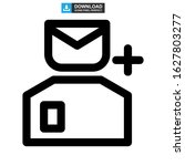 add user icon or logo isolated... | Shutterstock .eps vector #1627803277