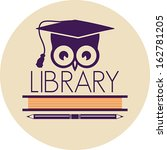 library icon | Shutterstock .eps vector #162781205