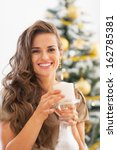 portrait of happy young woman...   Shutterstock . vector #162785381