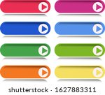 multicolored gameplay buttons...   Shutterstock . vector #1627883311