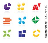 set of logos. vector... | Shutterstock .eps vector #16279441