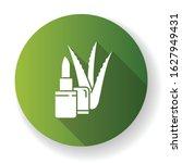 organic lip balm green flat... | Shutterstock .eps vector #1627949431