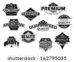 retro labels and banners set... | Shutterstock .eps vector #162795035