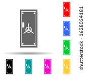 safe door multi color style...