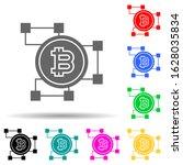 bitcoin blockchain multi color...