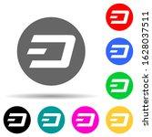 dash multi color style icon....