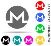 monero multi color style icon....