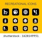 recreational icon set. 12... | Shutterstock .eps vector #1628149951