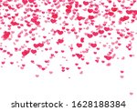 hearts background  valentine...   Shutterstock .eps vector #1628188384