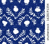 Floral Indigo Cyanotype Dyed...
