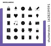 25 miscellaneous icon set.... | Shutterstock .eps vector #1628239591