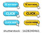 hand cursor vector icon with... | Shutterstock .eps vector #1628240461