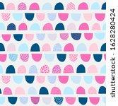 abstract semi circles seamless... | Shutterstock .eps vector #1628280424