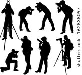 Photographer Silhouettes  ...