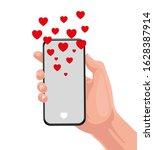 sending love message concept....   Shutterstock .eps vector #1628387914