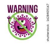 stop coronavirus  2019 ncov   ... | Shutterstock .eps vector #1628405167