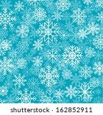 blue christmas background | Shutterstock .eps vector #162852911