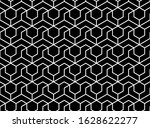 the geometric pattern with... | Shutterstock .eps vector #1628622277