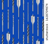 realistic 3d detailed metallic... | Shutterstock .eps vector #1628709874