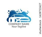 car wash logo template. car... | Shutterstock .eps vector #1628722627