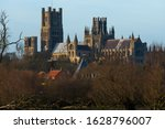 Ely Cathedral In Cambridgeshir...
