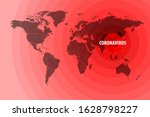 illustration of the spread of a ... | Shutterstock .eps vector #1628798227