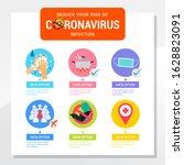 coronavirus protection... | Shutterstock .eps vector #1628823091