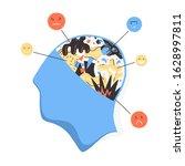 self awareness concept....   Shutterstock .eps vector #1628997811