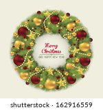 Christmas Wreath.vector