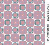 geometric ornamental vector... | Shutterstock .eps vector #1629181417
