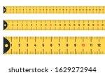 ruler measuring long tape set.... | Shutterstock .eps vector #1629272944