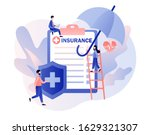 insurance concept. property and ...   Shutterstock .eps vector #1629321307