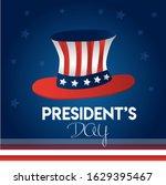 happy president's day usa...   Shutterstock .eps vector #1629395467