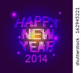 happy new year party   Shutterstock .eps vector #162945221