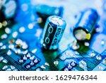 Capacitor Resistor On Circuit...