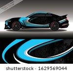 car wrap decal design vector ... | Shutterstock .eps vector #1629569044