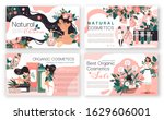 natural cosmetics brochure ... | Shutterstock .eps vector #1629606001