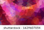 vector background from polygons ... | Shutterstock .eps vector #1629607054