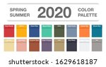 spring and summer 2020 colors... | Shutterstock .eps vector #1629618187