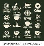 set of vector coffee logos or...   Shutterstock .eps vector #1629630517