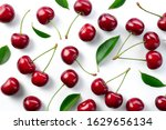 Cherries. Cherry Background....