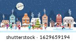 happy new year and merry...   Shutterstock . vector #1629659194