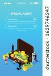 special agent spy isometric...