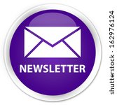 Newsletter  Email Icon  Purple...