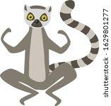 vector illustration of sitting... | Shutterstock .eps vector #1629801277