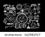 eco idea sketch doodle | Shutterstock .eps vector #162981917