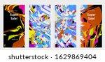 abstract social media template...   Shutterstock .eps vector #1629869404