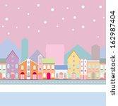 house buildings  home... | Shutterstock .eps vector #162987404