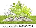 environmentally friendly world. ...   Shutterstock .eps vector #1629892054