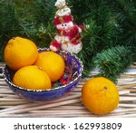 christmas composition with... | Shutterstock . vector #162993809